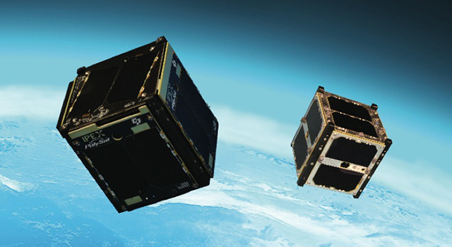 CubeSats in orbit