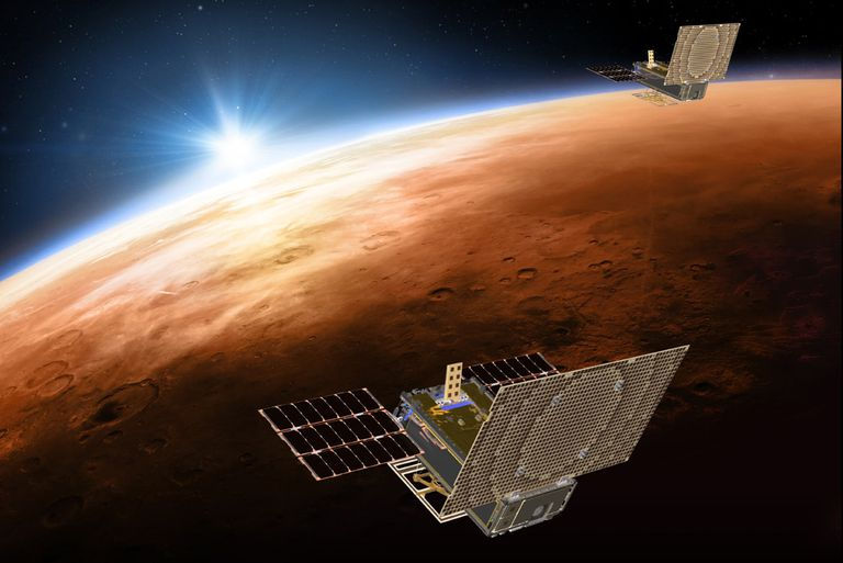 The twin MarCo spacecraft, launched with NASA's Insight lander, herald the start of an exciting era of interplanetary CubeSats.