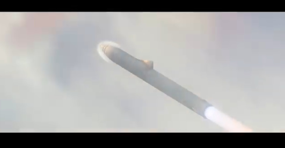 SpaceX Earth travel YouTube video