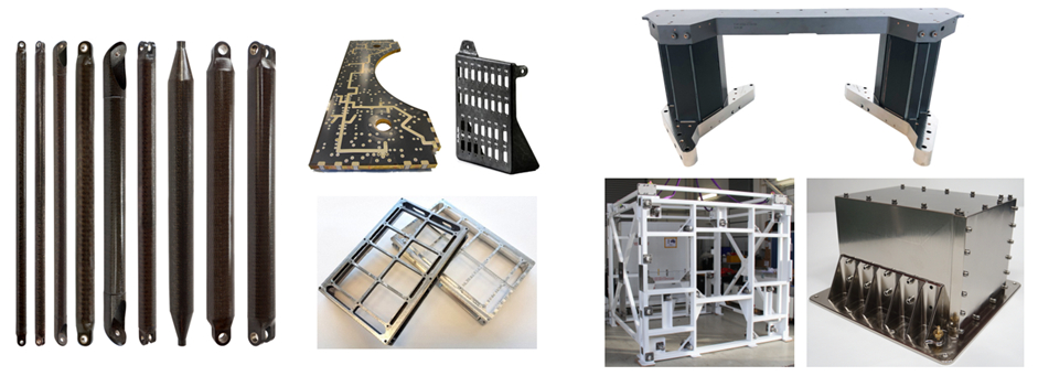 Structures optimised for space applications