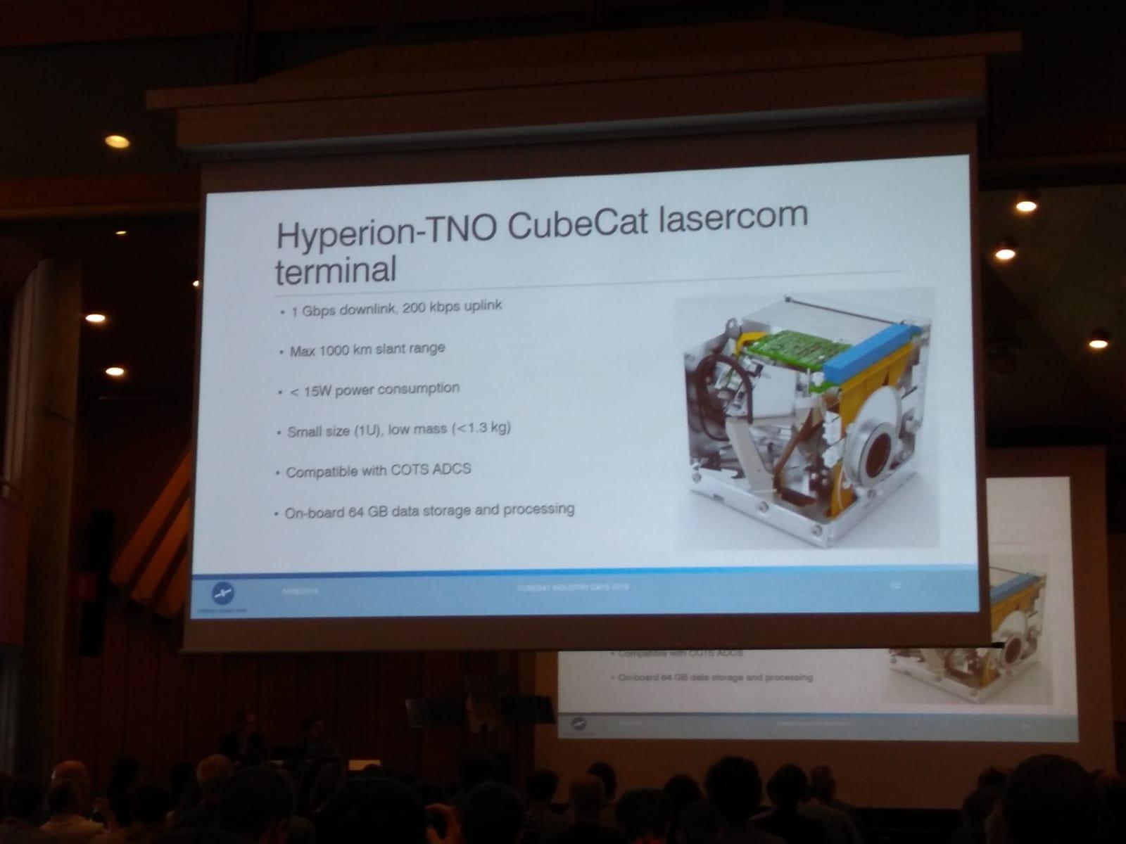 Hyperion Technologies CubeCat product