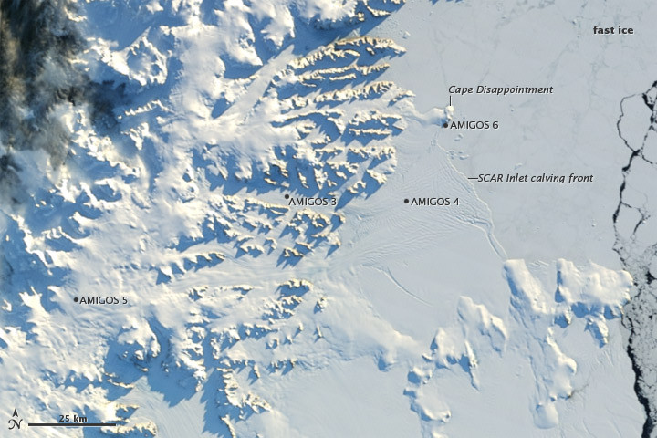 Example EO image of the Arctic