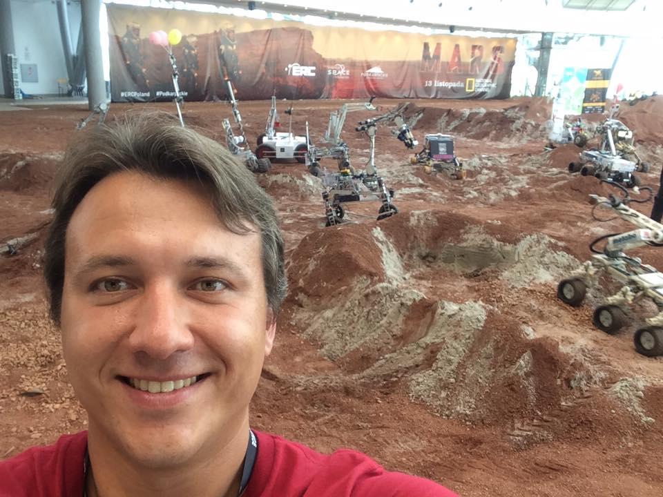 MURB Space founder Maciej Urbanowicz