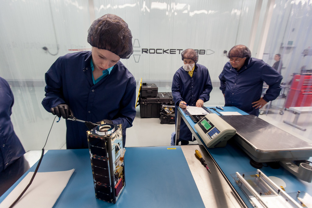 CubeSat being developed