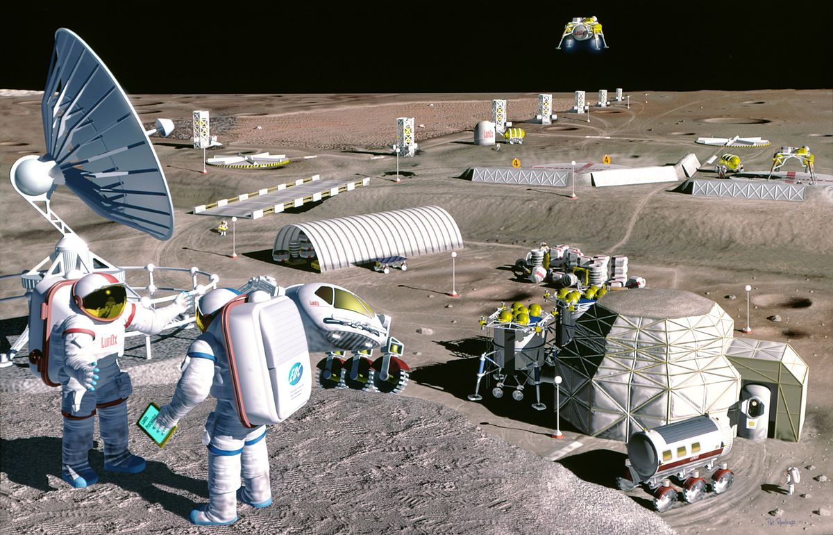 NASA Moon base concept
