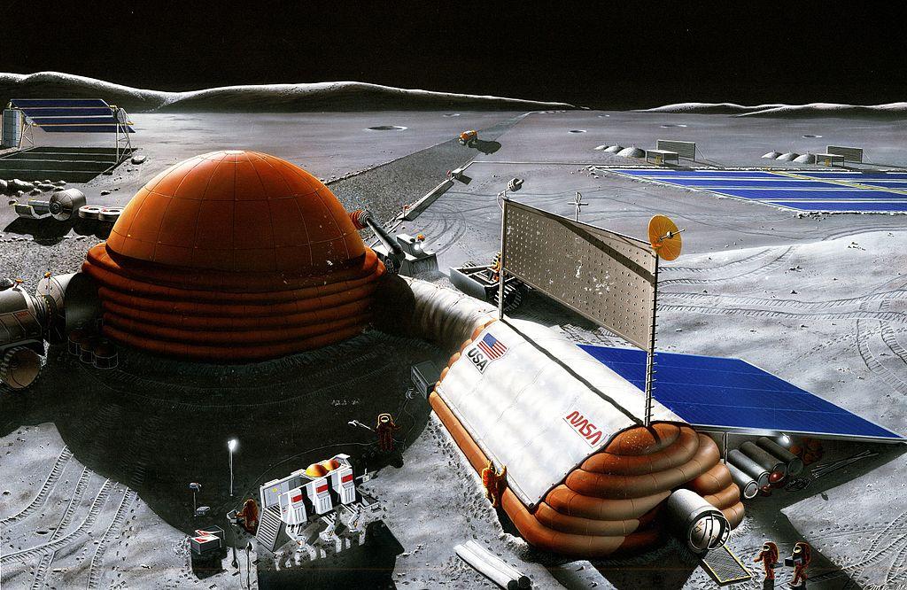 Moon base example