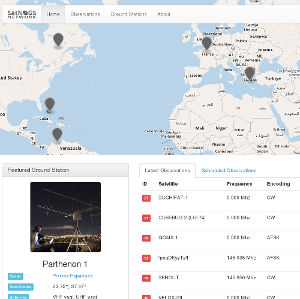 satNOGS ground station network on satsearch
