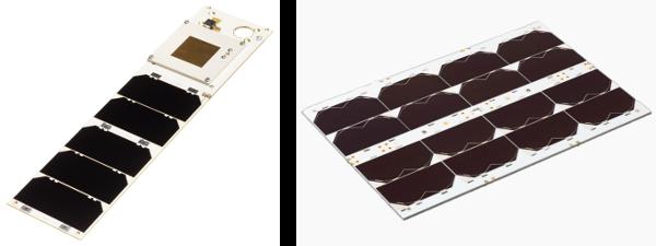 Nanoavionics solar panels on satsearch
