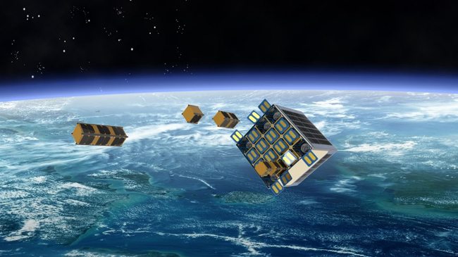 Leaf Space cubesats ground segment