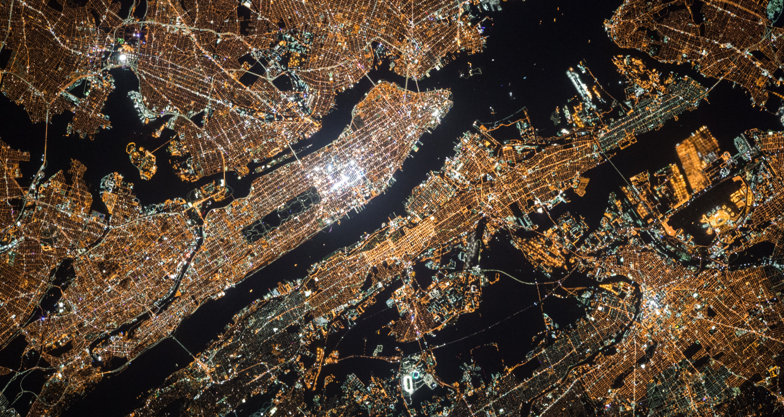 selecting an optical payload night time satellite photo